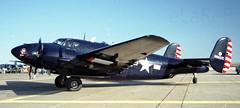N6857C Lockheed PV-2 Harpoon ex BuNo 37250 c/n  15-1216 (eLaReF) Tags: ex cn airplane force display air confederate 1993 airshow harpoon 18 lockheed warbirds caf warbird midland lodestar buno pv2 37250 kmaf 151216 cafshow n6857c