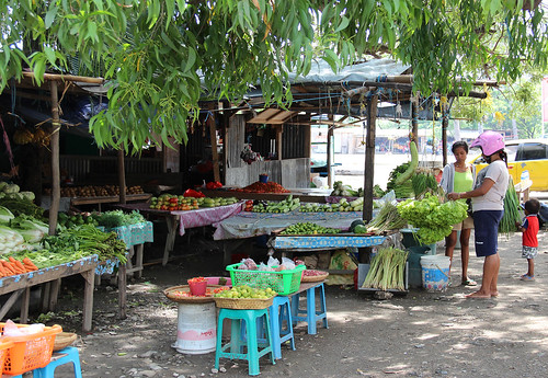 Vegetable stall in Dili, Timor-Leste. Photo by Holly Holmes, 2013