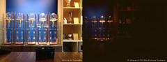 BlueBottle_comparison (Jelliefishie) Tags: camera nyc newyork film coffee brooklyn digital iso100 victorian device retro pinhole cardboard williamsburg comparison apparatus 4s compare steampunk iphone sharan ektar psharan ektar100