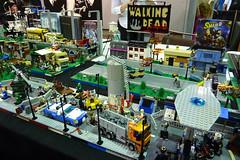 LEGO Walking Dead (sciencensorcery) Tags: lego conventions megacon con thewalkingdead megacon2013