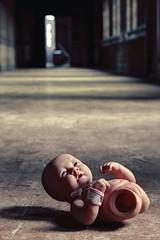 Stillbirth (Subversive Photography) Tags: uk baby abandoned dark scary atmosphere covent urbanexploration horror cinematic subversive uncouth darkart urbex danielbarter