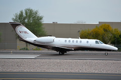 N719L (Pilot_Justin_Lawrence) Tags: airport air north american scottsdale takeoff cessna charter citation sdl cj4 ksdl n719l 525c c25c