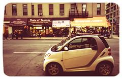 Big City Smarts (DHaug) Tags: nyc smart car frugal lowermanhattan