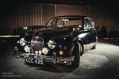 Jaguar MkII (Roj) Tags: blue vintagecar ocf canonef1740mmf4lusm offcameraflash jaguarmkii canon5dmkii welshot