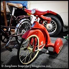 [ฮาร์เลย์สามล้อ] เจ้าจักรยานสามล้อยี่ห้อฮาร์เลย์เท่ไม่น้อย ค่าตัวสามหมื่นเต็มไม่ขาดไม่เกิน สุดแต่ว่าใครจะเผลอใจ สอยไปให้ลูก