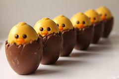 chickies (Dreemrr) Tags: chickens easter babies chocolate treats chicks top20foodmmmm