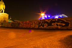 (taker) uboat teos ibes (wallsdontlie) Tags: night graffiti shot cologne kln teos uboat taker ibes