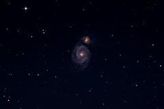 M51 - The Whirlpool Galaxy (TheDaveWalker) Tags: whirlpool galaxy m51 Astrometrydotnet:status=solved Astrometrydotnet:version=14400 Astrometrydotnet:id=alpha20130394251786 LiverpoolASFavourites:year=2013 LiverpoolASFavourites:month=04