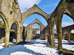 Heptonstall, ruined church.