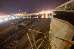 ... (BadPeter!) Tags: toronto abandoned night climb long exposure elevator grain victory silo mills soya rappel panam ascend redevelopment portlands