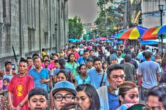 Busy manila street (woenmchiael) Tags: street manila