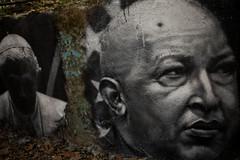 Une légende est née, Hugo Chavez painted portrait _MG_8184003