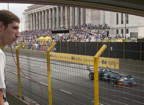 El Súper TC 2000 en el callejero de Buenos Aires