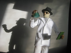 invisible Man 7718 (Brechtbug) Tags: new york city nyc shadow white man film halloween sunglasses monster scarf movie jack toy toys scary lab shoes gun shadows with action invisible dr coat jacket gloves doctor laboratory figure horror terror claude monsters universal transparent mad creatures creature figures bandage griffin sideshow rains scientist bandages fright prowl the 2013