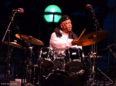 Bernard Purdie; Bernard Purdie, Reuben Wilson and Grant Green, Jr. (formerly known as the Godfathers of Groove) with special guest Donald Harrison, 2012 Detroit Jazz Festival (jackman on jazz) Tags: drums drum percussion detroit drummer detroitmichigan detroitjazzfestival detroitinternationaljazzfestival bernardpurdie d7000 godfathersofgroove nikond7000 jackmanonjazz alanjackman