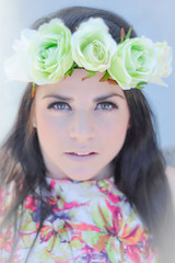 """But he who dares not grasp the thorn, should never crave the rose"" (Stacey Price (Roxy_77)) Tags: portrait rose female nikon hamiltongardens d90 nikkor50mm flowerheadband 50mmportrait nikor50mm nikon50mm roseleigh floralheadband nikond90 flowerhairpiece floralhairpiece wolfclub staceyprice roxy77 d90and50mm femaleportraitcloseup qualityfemaleportrait"
