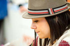 Alizée at autograph session in Poitiers
