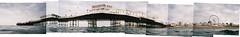Brighton pier montage (lomokev) Tags: sea beach water wheel swimming pier nikon brighton ferris montage bigwheel nikonos nikonosv nikonos5 nikonosfive