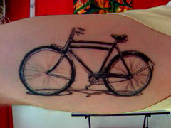 bicicleta (angelix tattoo) Tags: black tattoo gray bicicleta realismo