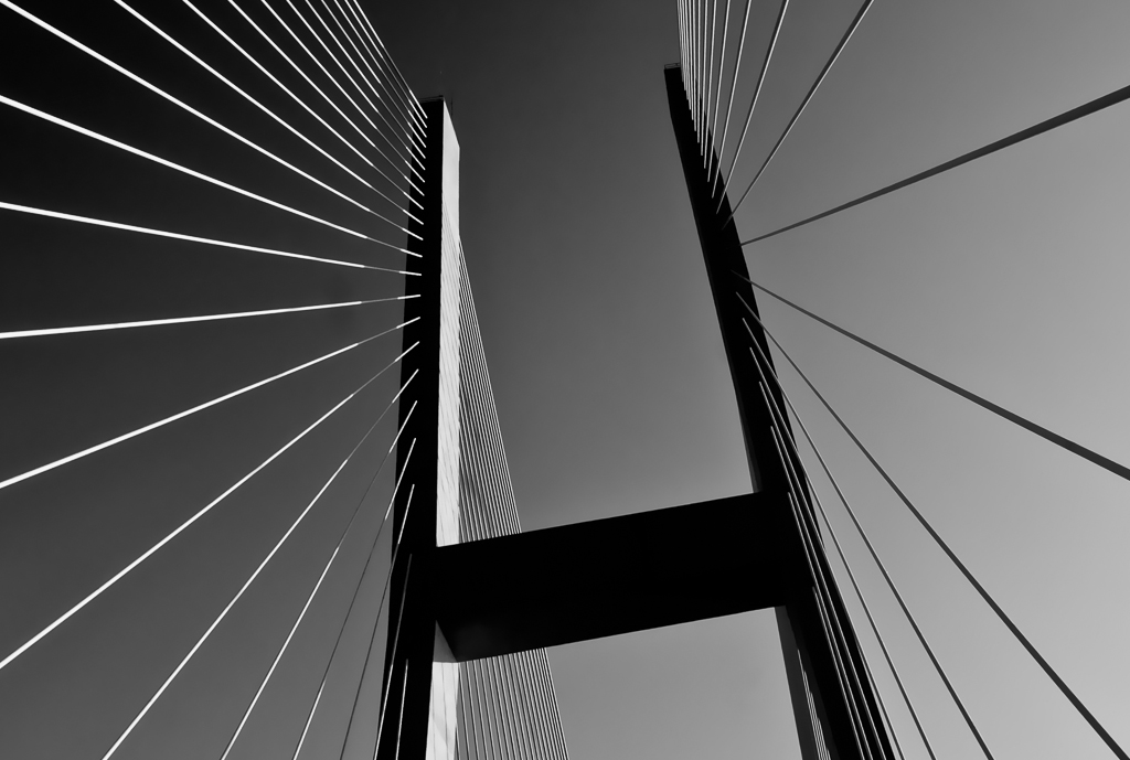 Bridge in Black and White by Bob Jagendorf, on Flickr
