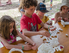 Getting Crafty #3 @ Creative Camps (nikabuz) Tags: summer festival kids arts australia handheld act corin take2 craftwork namadginationalpark brindabellamountains corinbank nikond7000 nikkor18105mmlens creativecamps corinbank2012 corinbankfestival2012