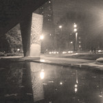 museum plaza during winter thumbnail