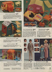 1973 Eaton's Christmas page 472 (Tinker*Tailor loves Lalka) Tags: christmas camp home fashion vintage hair out beard toys living model mod doll country ken barbie skipper tent catalog curl camper quick catalogue mattel teenage