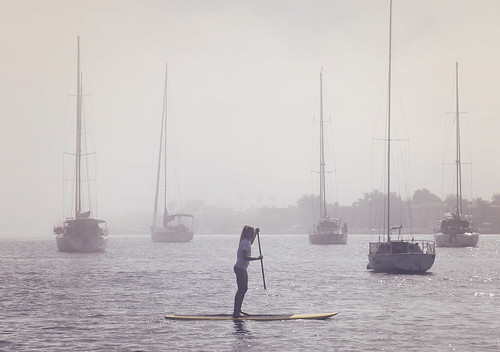 stand up paddleboard @ Newport