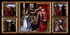 Master of the Legend of Saint Ursula (Cea.) Tags: mirror shield annunciation masterofthelegendofsaintursula