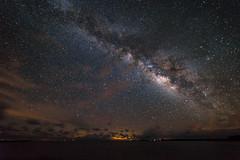 Milky Way over Porter Island. (Joshua W. Young) Tags: milkyway milky way astrophotography nikond810 nikon d810 landscape nightscape starporn skyporn rokinon14mm rokinon 14mm wideangle wide angle teamnikon
