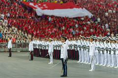 National Anthem (Jake Wang) Tags: singapore ndp national day parade 2016 sportshub sports hub kallang stadium anthem majulah singapura flag