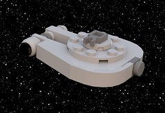 YT-2400 Light Freighter (TheNerdyOne_) Tags: starwars lego micro ldd