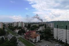 jnowak64 (jnowak64) Tags: poland polska malopolska cracow krakow krakoff bronowice krajobraz architektura dym lato mik