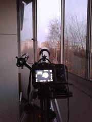 Sprzt w trakcie dziaania (AstroBednar) Tags: astronomy astrophotography telescope magnification lense refractor sky watcher night solar system gear
