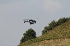Hubschrauber bei der Wasserkuppe 160814_085 (jimcnb) Tags: 2016 august wasserkuppe rhn hessen hubschrauber polizei helicopter dhheb