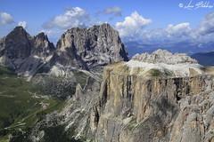 Sassolungo e Piz Ciavazes (Luca Bobbiesi) Tags: mountains dolomiti dolomites landscape panorama sasspordoi pordoi sassolungo alpi pizciavazes puntagrohmann puntadellecinquedita canoneos7d canonef24105mmf4lisusm