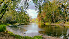 Bend in the River (Paul McCarthy...) Tags: sciotoriver columbus ohio sonyhx300 teamsony outdoor fallinohio delawareco fallleaves leafpeepers secluded serene bendintheriver