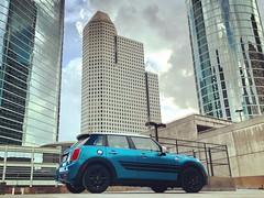 Mini Cooper F55 / Four Door / Five Door (J-a-x) Tags: hatchback architecture downtown usa texas houston fivedoor fourdoor sportscar blue minicoopers minicooper car hardtop coopers f55s f55 cooper mini