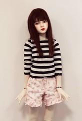 Red lipstick? (IssyBJD) Tags: abjd bjd asian ball jointed doll bimong dandelion mindulrae hybrid sd