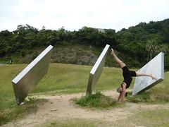 HotD wind panels (Stop carbon pollution) Tags: japan  honshuu  okayamaken  naoshima  setouchiarttriennale