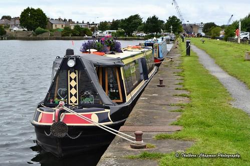 Glasson Dock near Lancaster, Lancashire UK