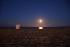 DSC_1708 (Pawel Bednarski) Tags: beach belmar new jersey east coast seaside shore moon stars sunset moonrise tars