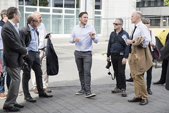 Advisory Services Panel: Frankfurt and Offenbach 3-8 May 2015 (Urban Land Institute (Europe)) Tags: advisoryservices city concrete exterior germany guide multiplepeople outside panel smiling street table tour urban walking frankfurt offenbach