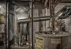 Day 231:  hvac appreciation (Mark.Swanson) Tags: pipes duct waterheater furnace basement