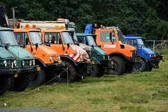 DSC_3165 (2) (Kopie) (azu250) Tags: ravels belgie weelde 3e oldtimerbeurs car truck tractor classic mercedes unimog