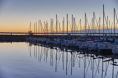 Evening at the Marina 6 (aylmerqc) Tags: summer september aylmerqc quebec aylmermarina marina water river ottawariver lacdeschnes sun sunset evening boat boats