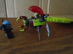 Lego 70700 Space Swarmer (Baltimore Bob) Tags: lego legos plastic toy buildingtoy 70700 space swarmer galaxysquad spaceship ship alien insect insectoid robot