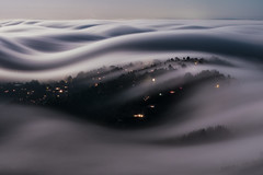 f o g · f i n g e r s | marin county, california (elmofoto) Tags: millvalley california unitedstates northerncalifornia fog fogaholic mttam marincounty sanfrancisco sfbayarea longexposure nightphotography nocturne elmofoto nikon d810 nikond810 nature landscape night bayarea mounttamalpais flow motion dynamics fluiddynamics weather local 2470mm ireview explore explored pf 100000v 100kv
