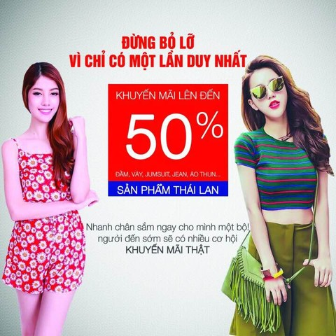EFFU CLEARANCE SALES GIẢM GIÁ LÊN ĐẾN 50%