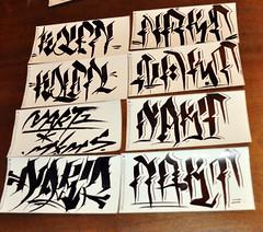 DSC_0483w (Portfoliosis) Tags: slaps stickers sticker graffiti tag hand handstyle graffititrade graffititrades graffititrader stickertrade stickertrades sticertraders graffitistickers